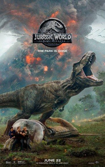 Hasil gambar untuk Jurassic World Fallen Kingdom poster