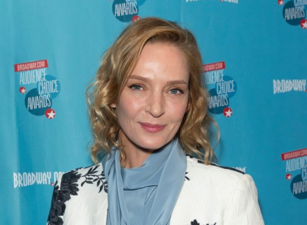May 24, 2018: Uma Thurman attends Broadway.com Audience Choice Awards celebration