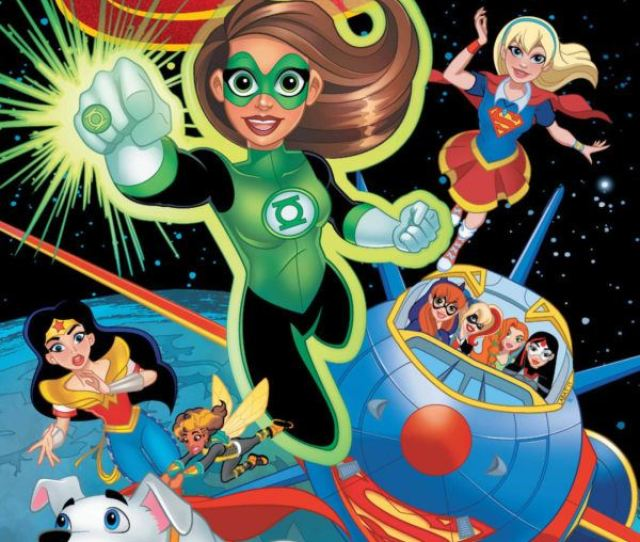 Dc Super Hero Girls Spaced Out May 2019 Written By Shea Fontana And Illustrated By Agnes Garbowska