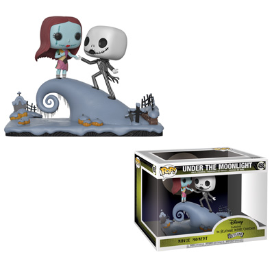 Funko NIghtmare Before Christmas Jack and Sally Movie Moments