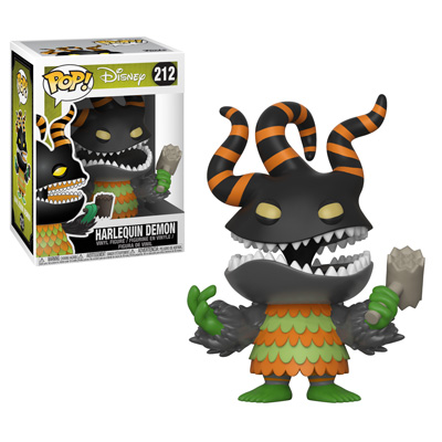 Funko Nightmare Before Christmas Pop Harlequin Demon