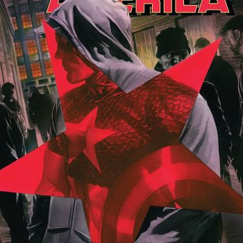 Captain America #3 cover by Alex Ross