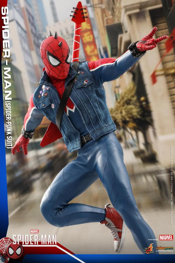 Hot Toys Spider Man Spider Punk Figure 14