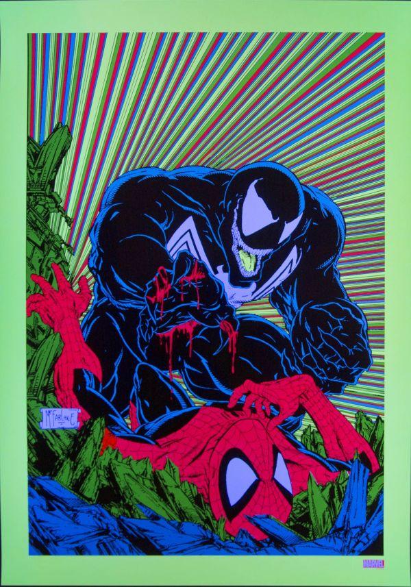 Venom Stance McFarlane Poster NYCC 10