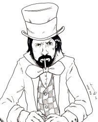 Dave Grohl as Mad Hatter