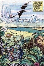 The Savage Land, by John Byrne