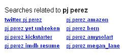 GOOGLE PJ PEREZ YES NOWWWWW