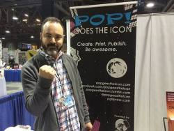 Pj Perez at Long Beach Comic Con