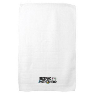 Bad Day Towel - $17.85, available at http://www.zazzle.com/bleepingmotherhood