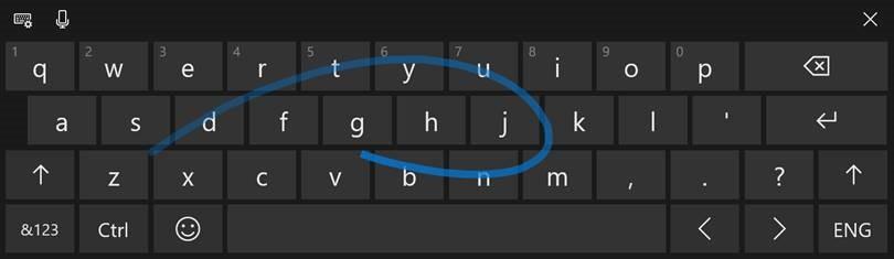 CWindows 10 Insider Build 17040 para PC Traz melhorias nos gestos de inserção de texto