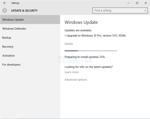 Microsoft Releases First Major Update for Windows 10