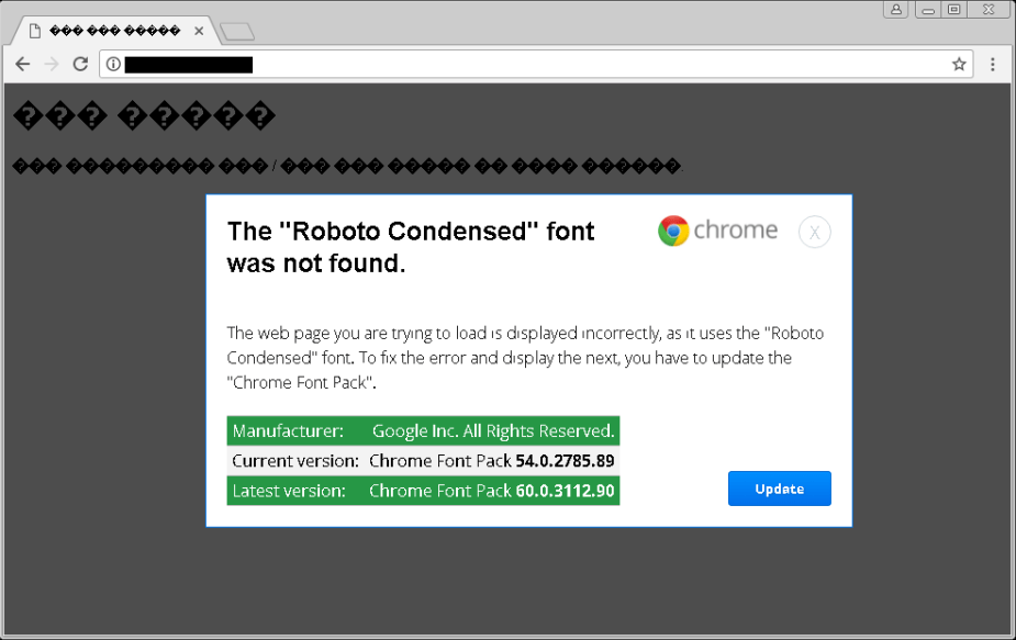 Download Fake Roboto Condensed Font Pack Update Infects Users with ...