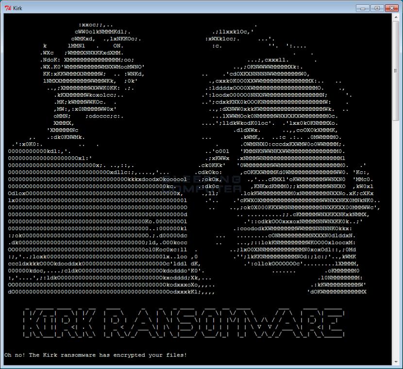 Kirk Ransomware