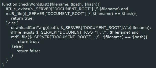 Descargar listas de palabras desde el servidor C2