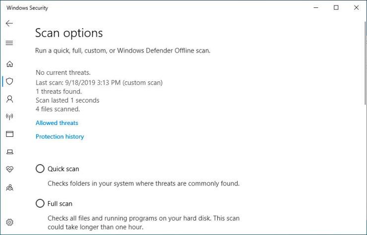 Windows Security Summary