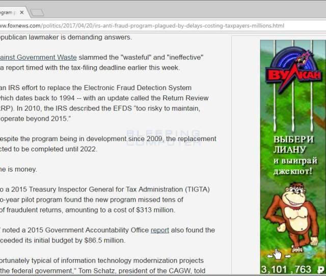 Russian Advertisements On Foxnews Com