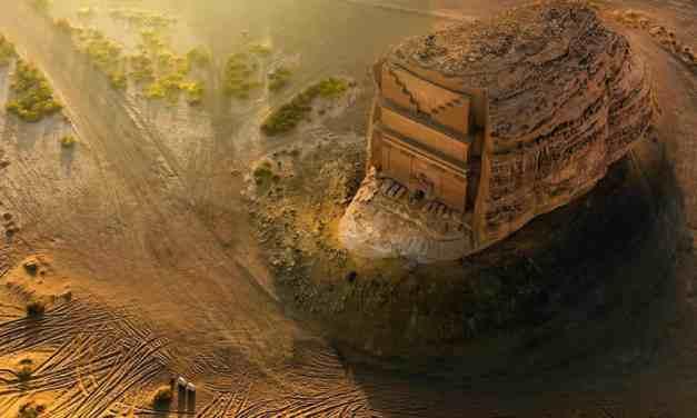 Obdivuhodný starověký portál Al Farid