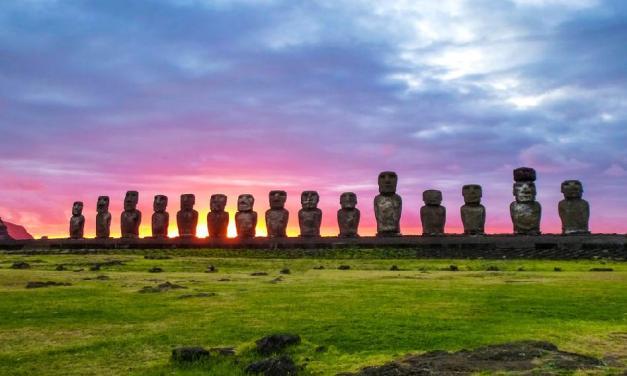 Velikonoční ostrov: Záhada kamenných soch, BYLA konečně rozluštěna!