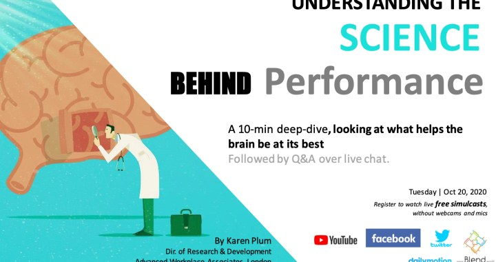 Understanding the Science behind Performance at Work | A 10-min talk