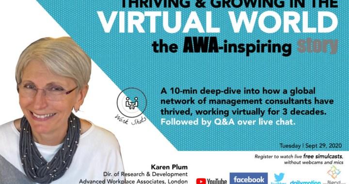 Thriving & Growing as a global virtual team | The AWA-inspiring story