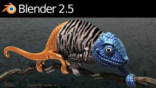 Blender 2.57 - Estável