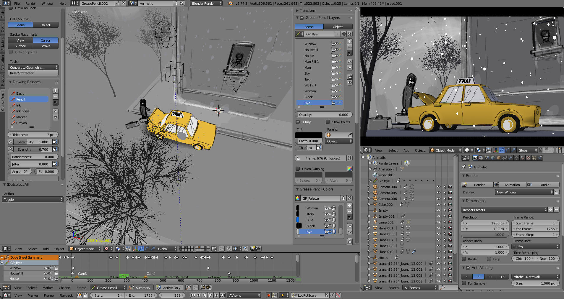 Blender for Mac 2.79b 免费版 -动画制作软件