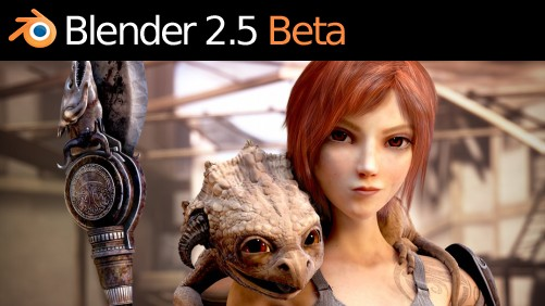 Blender Beta 2 Splash