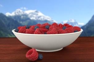 Raspberrys and blueberrys by [VorteX]