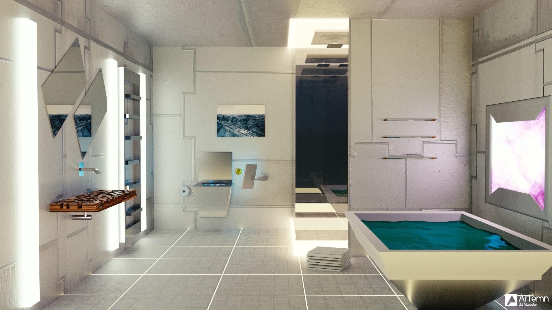 The Art of Trexminator - BlenderNation on Space Bathroom  id=80683