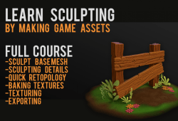 Learn sculpting by making game objects