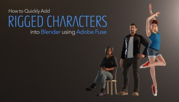Quickly Get Animated Characters into Blender Using Mixamo