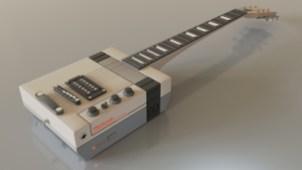 Gibtendo NES Paul Guitar