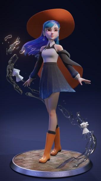 Rain Witch by Ninjason Chan (1)