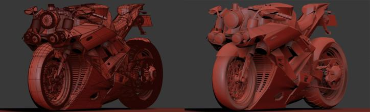 Model inside of 3ds Max 01