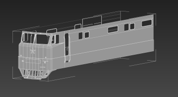 Old base mesh from 3ds Max, 2014
