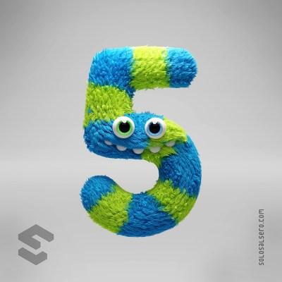 Numbers Murray Monster - Five Him Final 1 (BA)