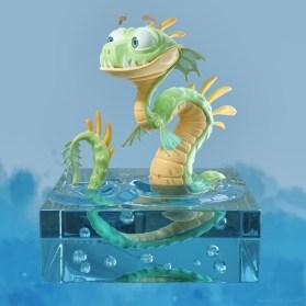 metin-seven_3d-print-modeler-toy-character-designer_cartoony-water-dragon-monster