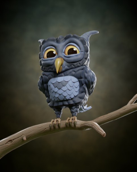 Stylized Owl_HD