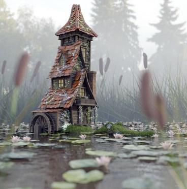 Alligator house