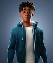 Stylized character