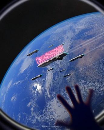 Earth in Danger by Berj