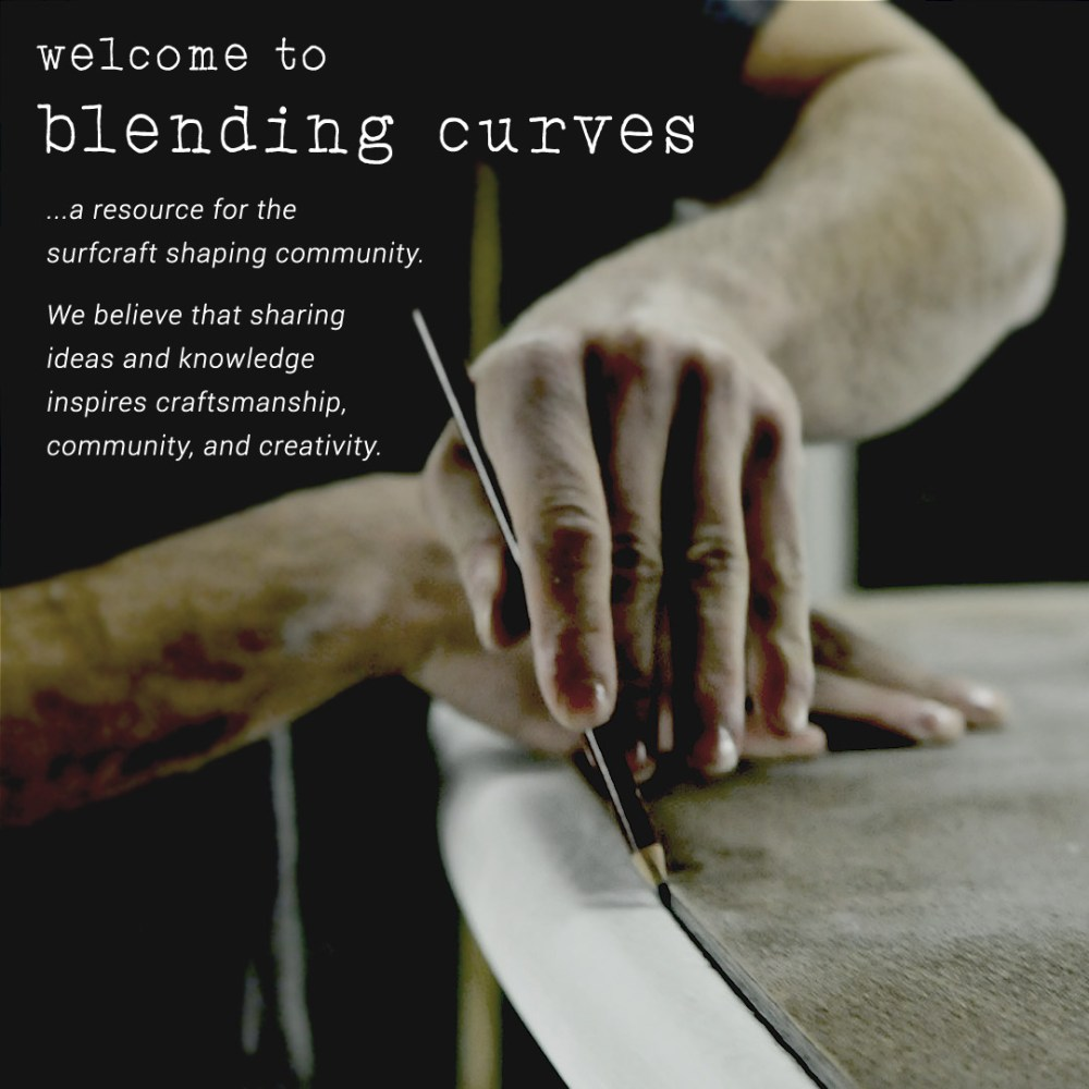 Blending Curves | A resource for surfboard shapers