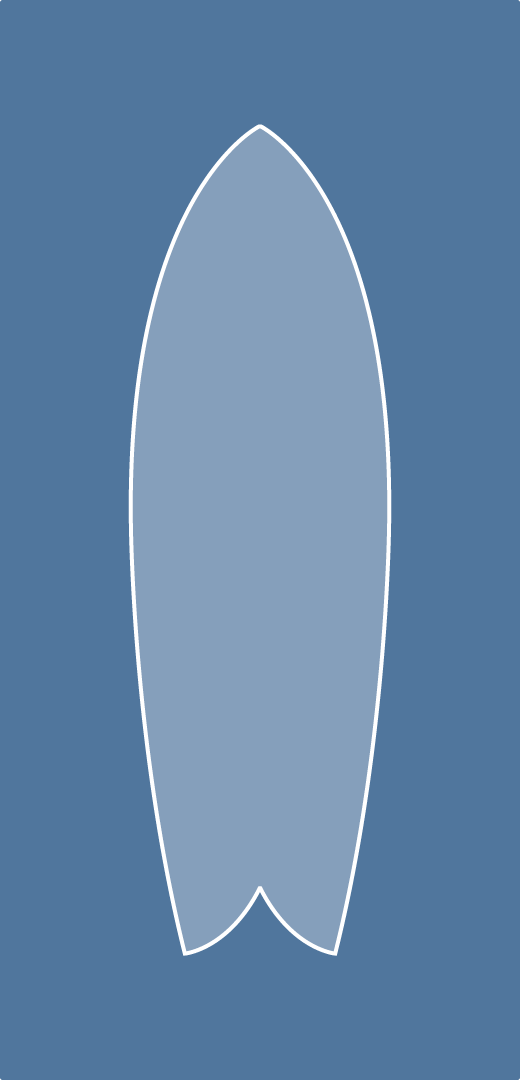 graphic about Printable Surfboard Templates called Mixing Curves A instrument for surfboard shapers