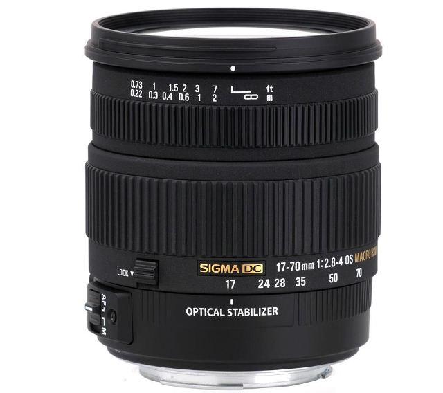 Sigma 17-70 mm f 2.8- 4 DC Macro OS HSM