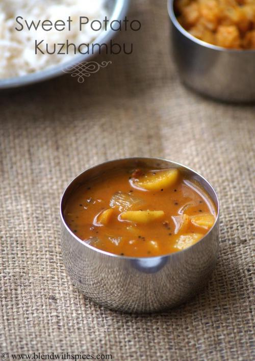 Sweet potato kuzhambu recipe sakkaravalli kizhangu kulambu save forumfinder Images