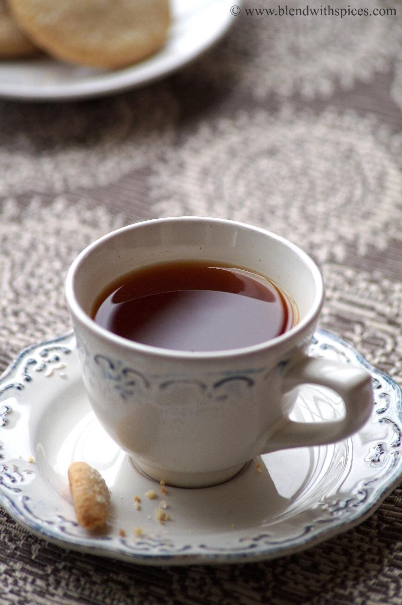 Lemon Tea Recipe - How to make Lemon Tea Recipe - Nimbu Chai Recipe Video