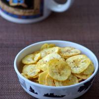 Kerala Banana Chips Recipe - Homemade Vazhakkai Chips - How to make Banana Chips at Home - Onam Recipes