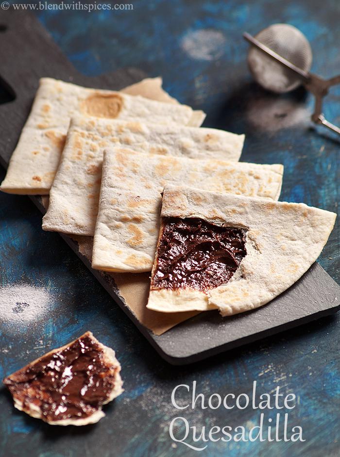 Chocolate Quesadilla Recipe - How to Make Mexican Chocodilla Recipe