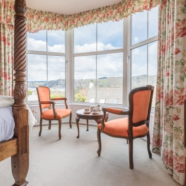 Bay Window B&B room with view