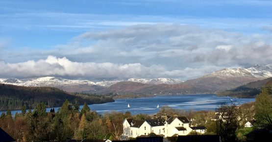 snow, blenheim lodge bed and breakfast, bowness
